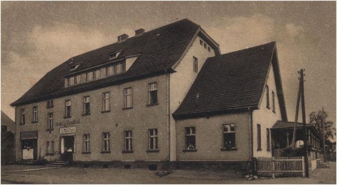 Postkarte 1920er Jahre.