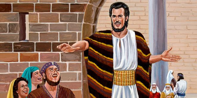 Jérémie est un prophète zélé de Jéhovah. En plus de l'infidélité et de l'idolâtrie des Juifs, le prophète Jérémie dénonce le mensonge et la trahison ainsi que le sang innocent qui a été versé par les Judéens. Jérémie les exhorte à changer !