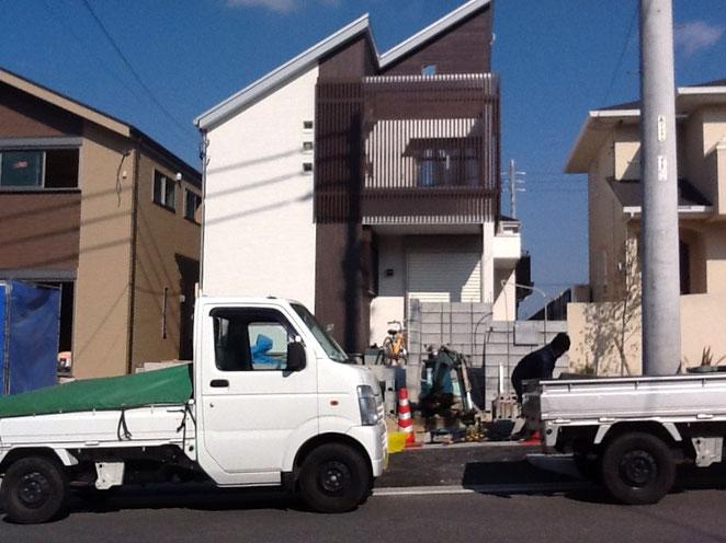 名古屋市N邸外構工事