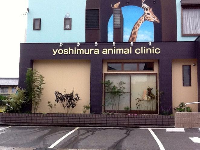 一宮市よしむら動物病院植栽工事