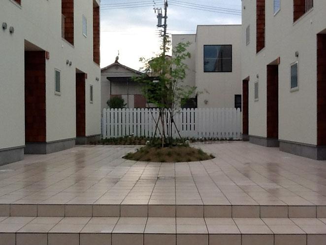名古屋市MAMAN APARTMENT造園工事