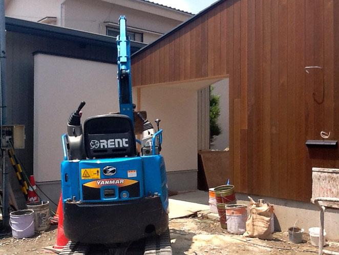 名古屋市G邸造園工事