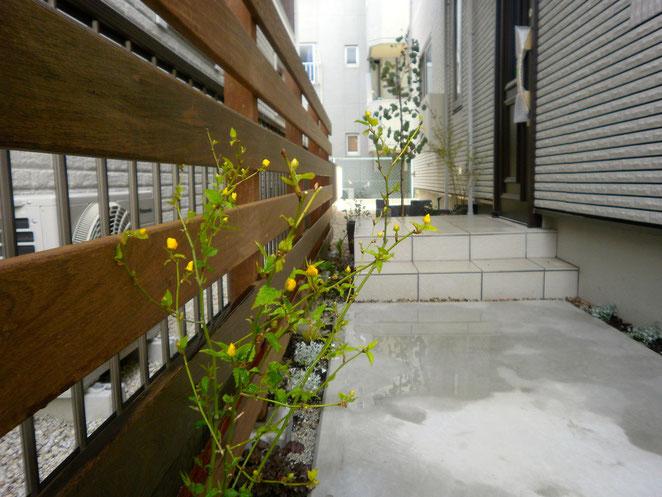 名古屋市ひよこカフェさん外構工事