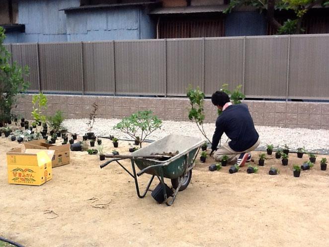 清須市H邸造園工事