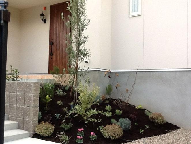名古屋市緑区K邸植栽工事