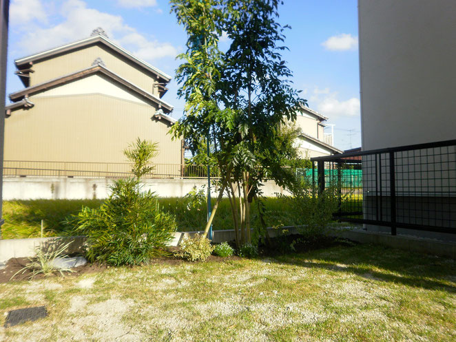 蟹江町分譲住宅の外構工事