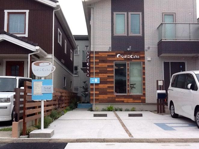 優しい雰囲気のカフェを併設する外構プラン