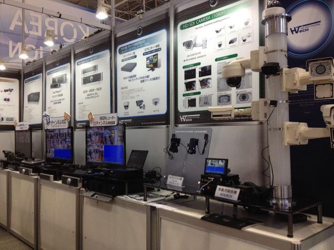 Tokyo Security Show 2014 Car DVR ETC.