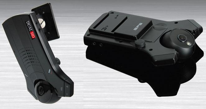 2カメラ HDドライブレコーダー DualHD-3300 外観写真