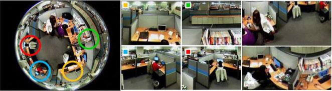 HD-SDI360度カメラ出力映像