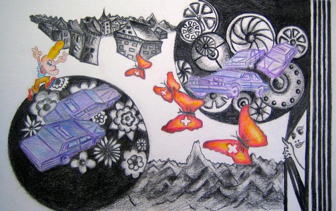 Artwork by Sandra Dufretelle