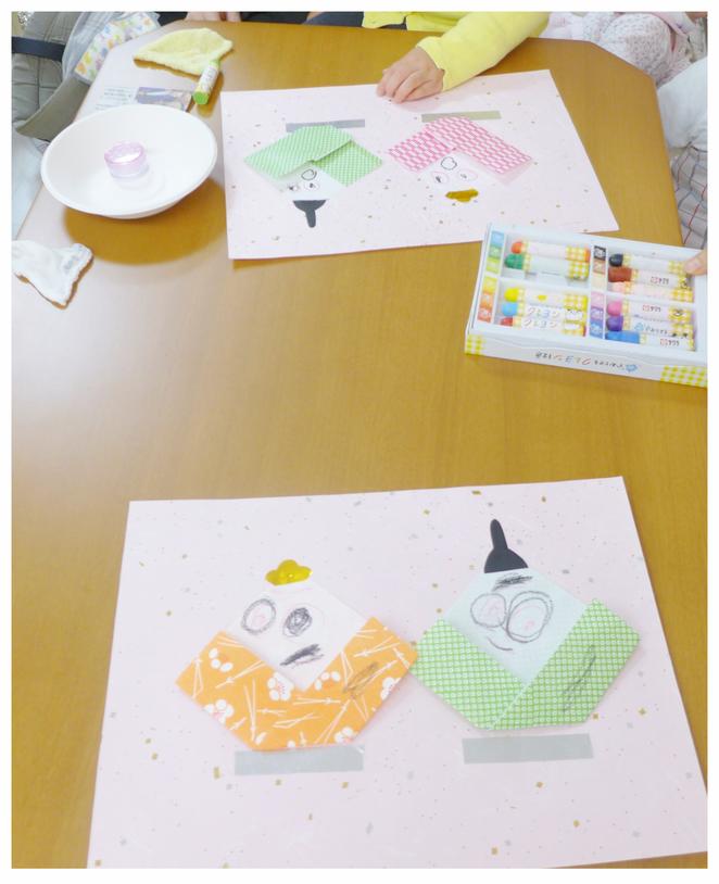 「フィオーレ・入園準備コース」(2~3歳)の作品