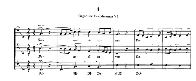 Foto 3. Notación moderna.