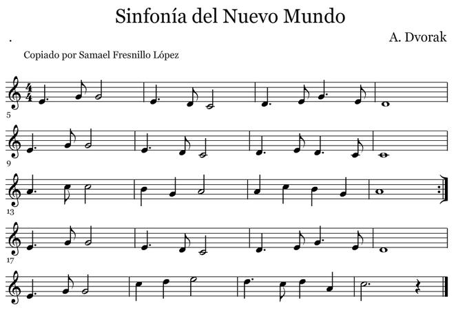 Sinfonía del Nuevo Mundo