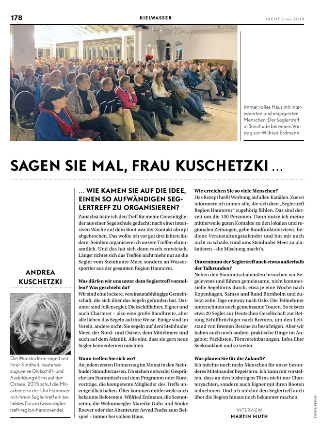 YACHT, Ausgabe 3 / 2019
