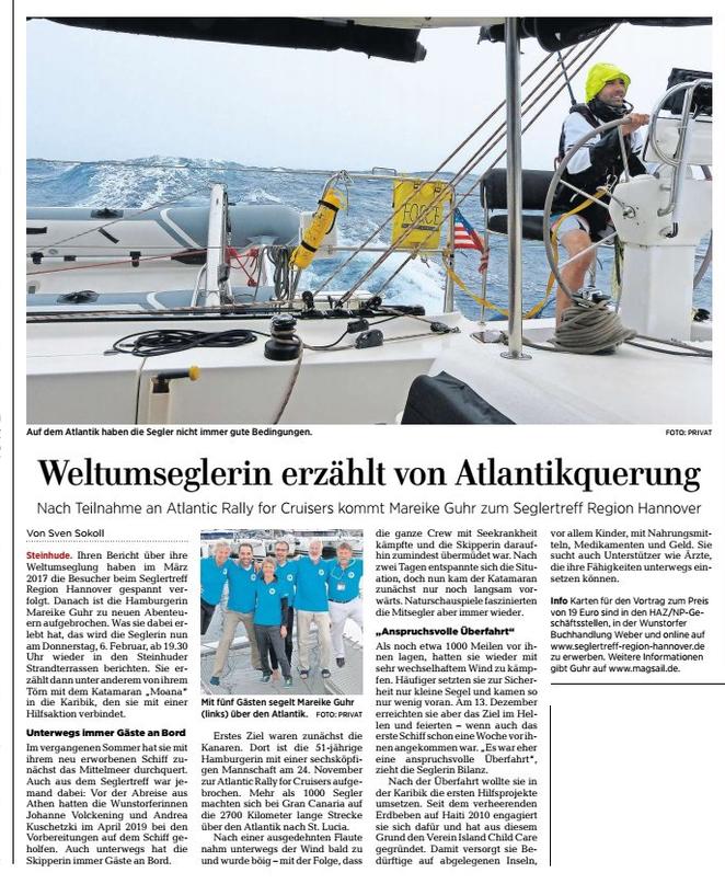 www.m.haz.de, Lokalteil Wunstorf der HAZ, 6.01.2020