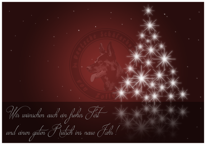 Frohe Weihnachten, guter Rutsch / Merry christmas & a happy new year