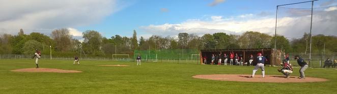 Closing Pitcher Marcel Schlensog - Strike Out gegen die #8 der Krefelder