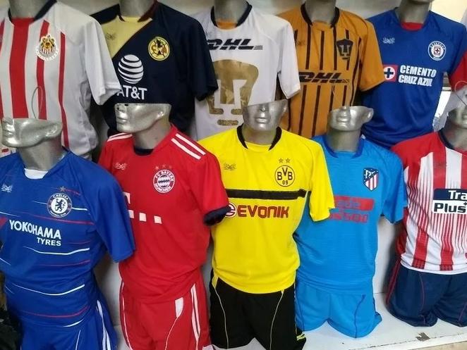UNIFORME FUTBOL SOCCER ECONOMICO 2018 - Comercial Deportiva ... 6347e943a2a15