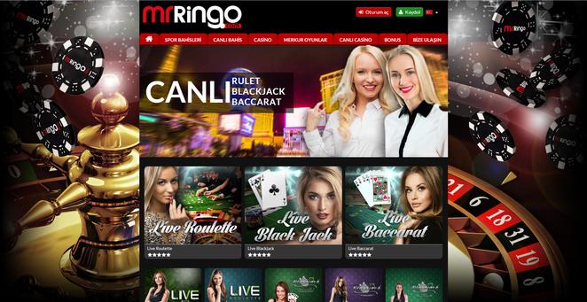 Mr Ringo Canlı Casino Ekran Görüntüsü