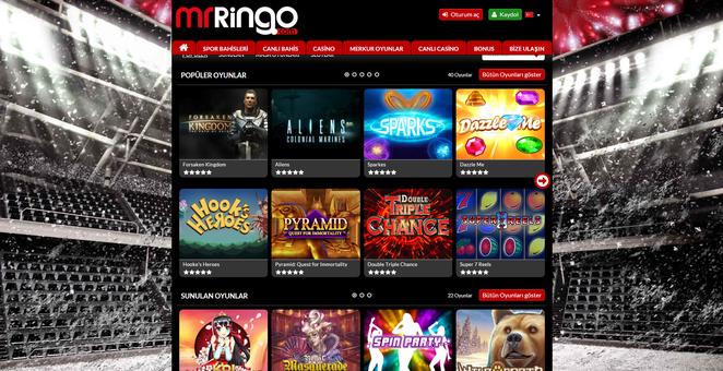 Mr Ringo Casino Ekran Görüntüsü