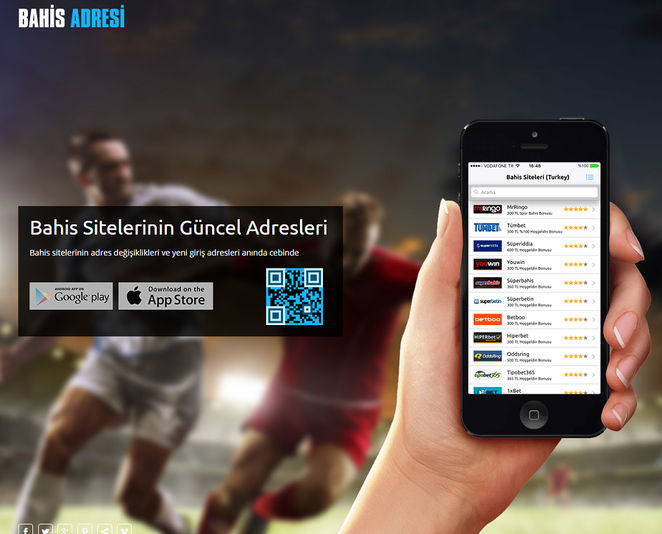 Bahis Adresi Ana Sayfa Görüntüsü