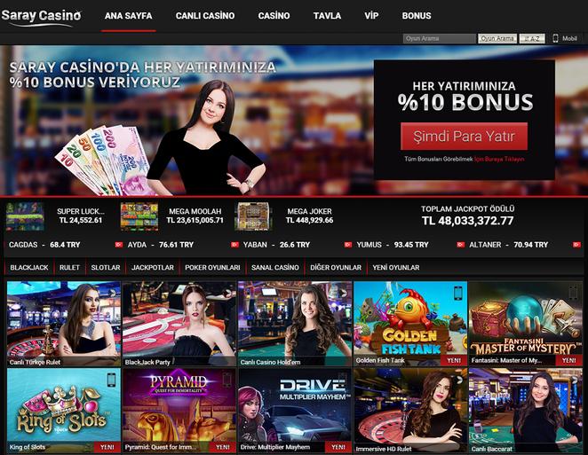 Saray Casino Ana Sayfa