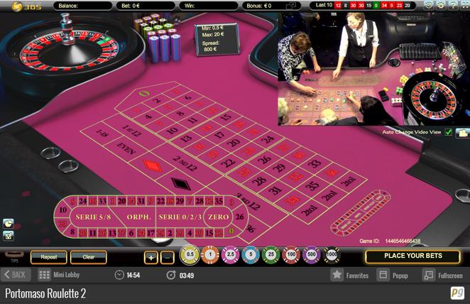 Portomaso Gaming Canlı Rulet