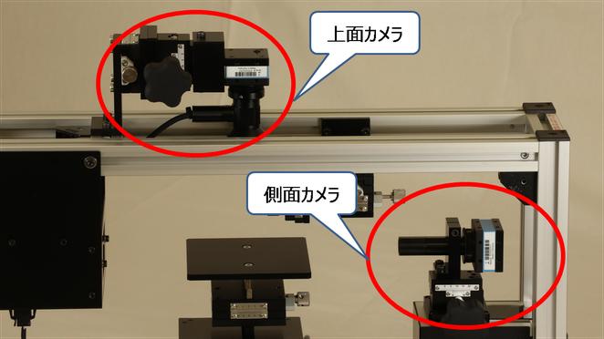 上面観測モデル カメラ解説