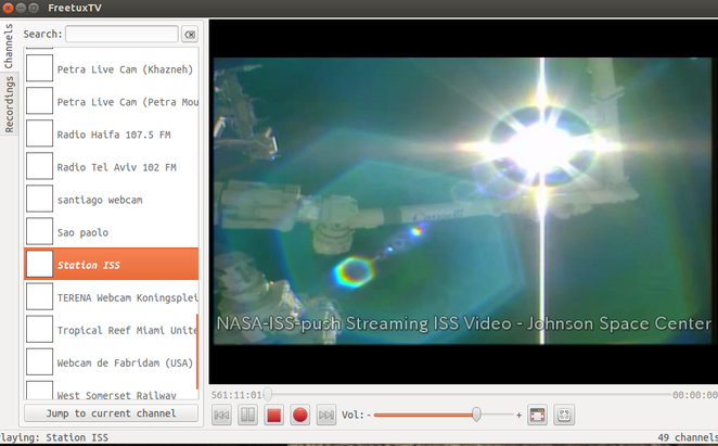 FreetuxTV Station ISS