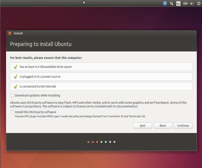 Ubuntu 14.04 LTS Install