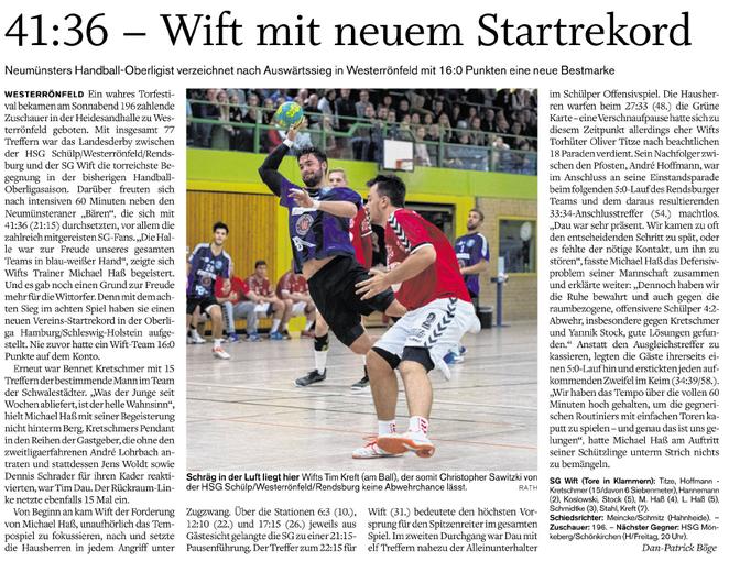 8. Spieltag Oberliga 2017/2018