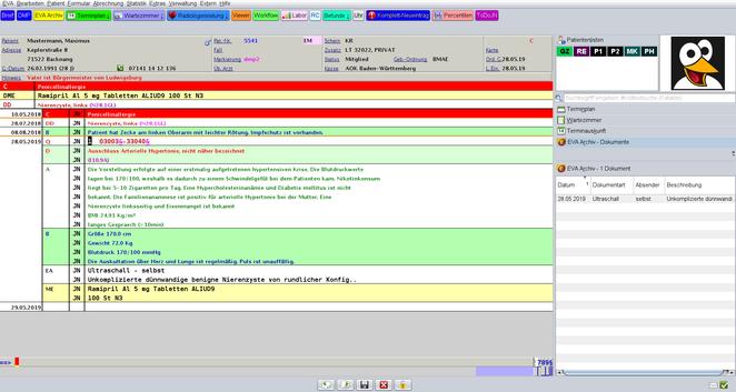 EVA Praxissoftware Arztsoftware Praxisprogramm Arztprgramm Praxisverwaltungssoftware