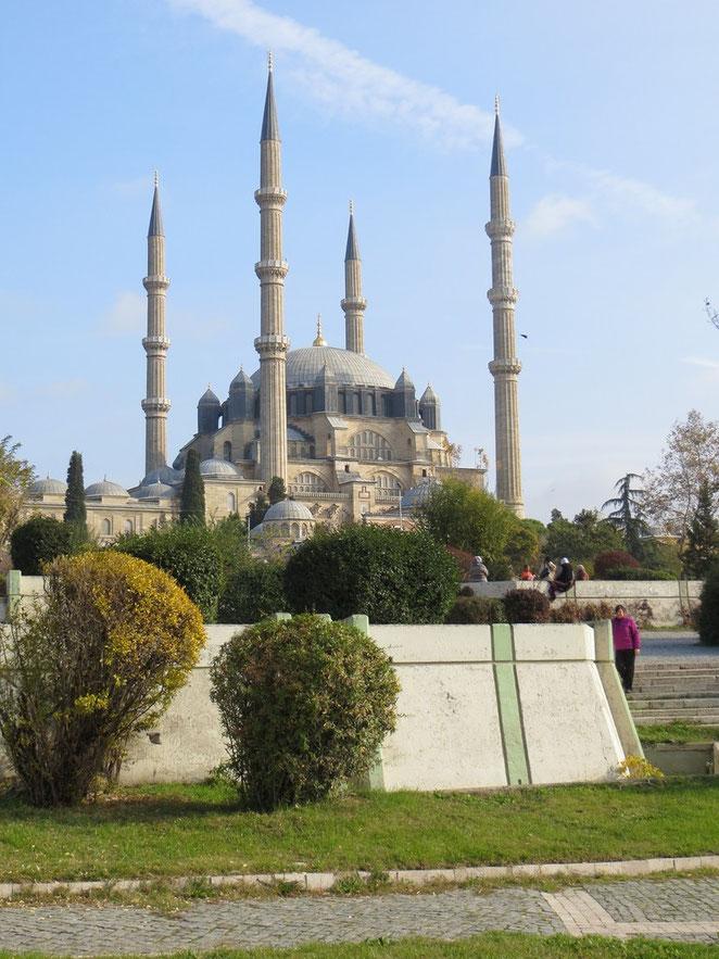 Selimiye-Moschee, einer der grössten und schönsten Moscheen der Türkei