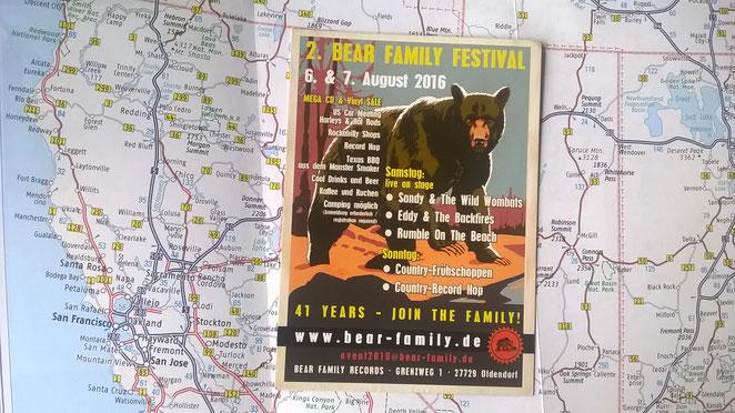 Bild: Bear Family Festival, US-Cars, HDW, Amerika