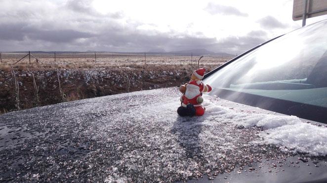 Bild: Merry Christmas, Mercedes-Benz C-Klasse, Hans-Dieter Wuttke, HDW