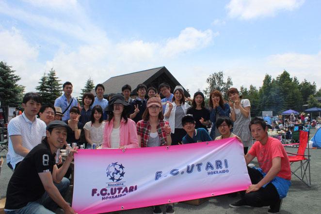 F.C.UTARI横断幕 作成!