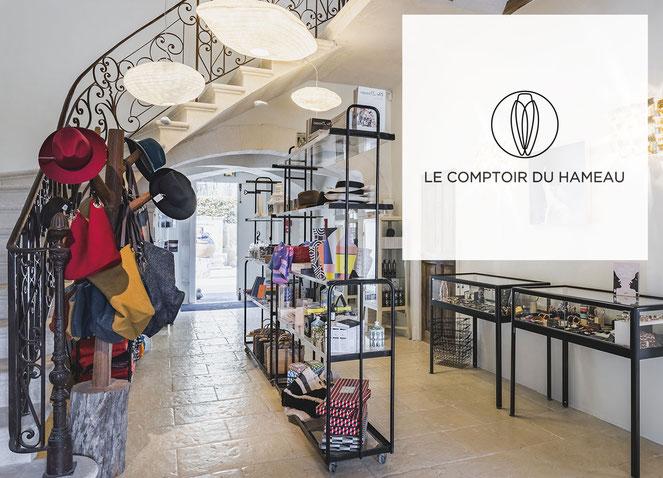 Le Comptoir du Hameau, concept-store in Paradou