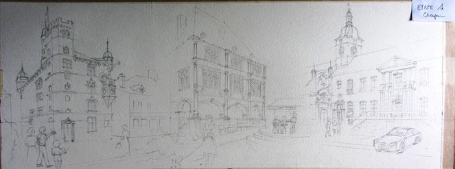 Luxeuil-les-Bains,l'art dans la rue