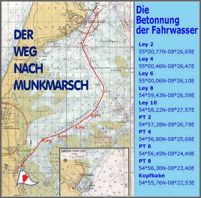 SSC-Munkmarsch Fahrwasser