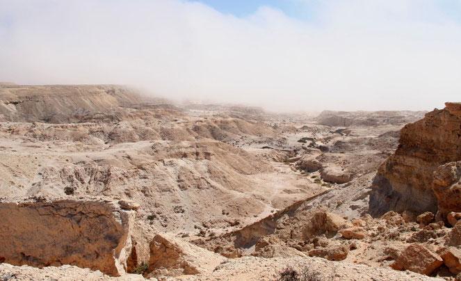 CANYON LANDSCHAFT WEST SAHARA - KURZ VOR MAURETANIEN