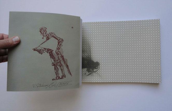 "Aus dem Buch Daniil Charms ""Ausflug / Прогулка"""