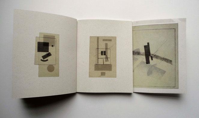 """Aus dem Buch: """"Beim Betrachten des Buches """"Malewitsch - Suprematismus - 34 Zeichnungen"""""""