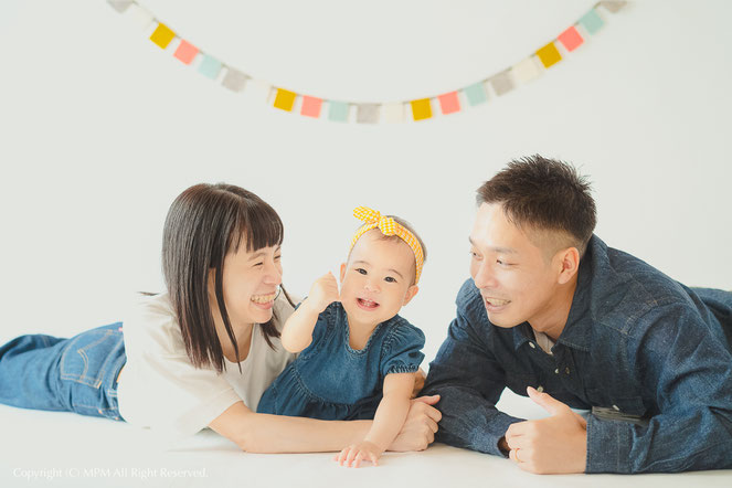 家族写真 滋賀