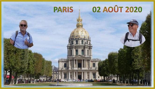 cliquer sur la photo pour voir le diaporama et les photos de cette journée Parisienne