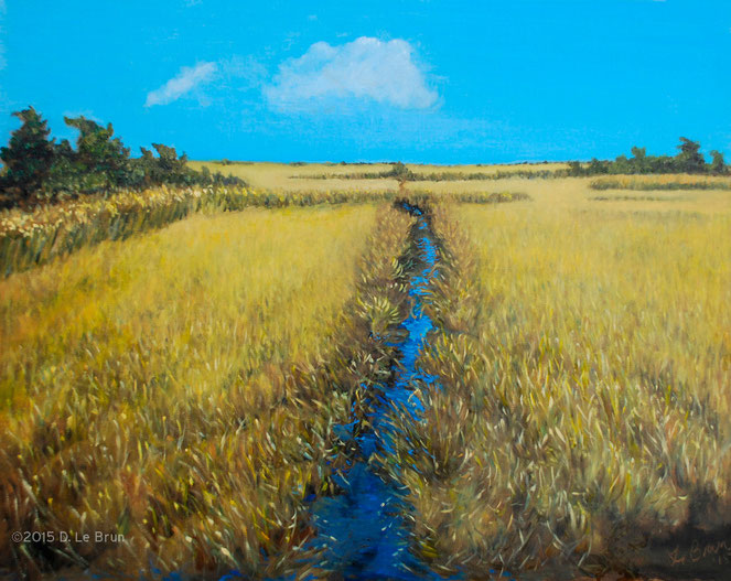 Quogue Blue and Marsh Ocher