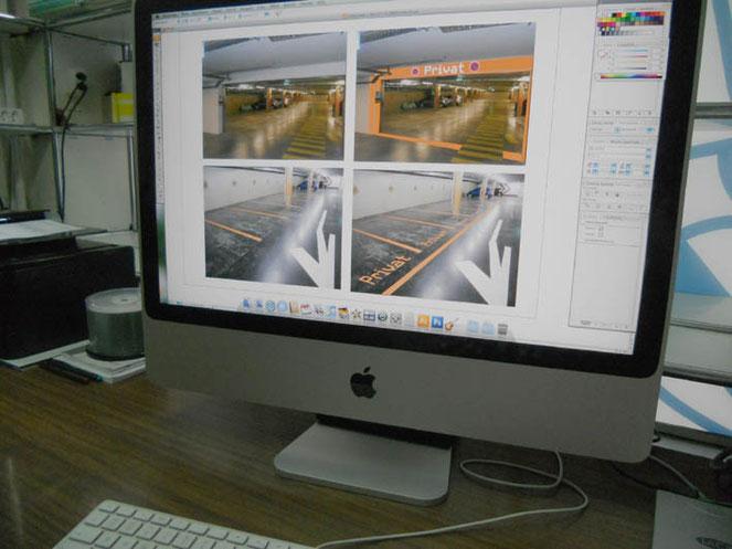 Entwürfe und Visualisierungen Ihres Projekts