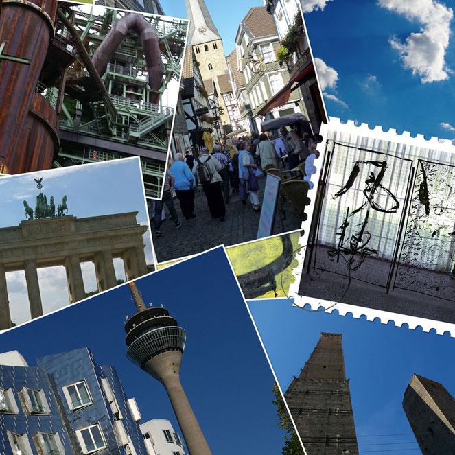 Reisen Collage