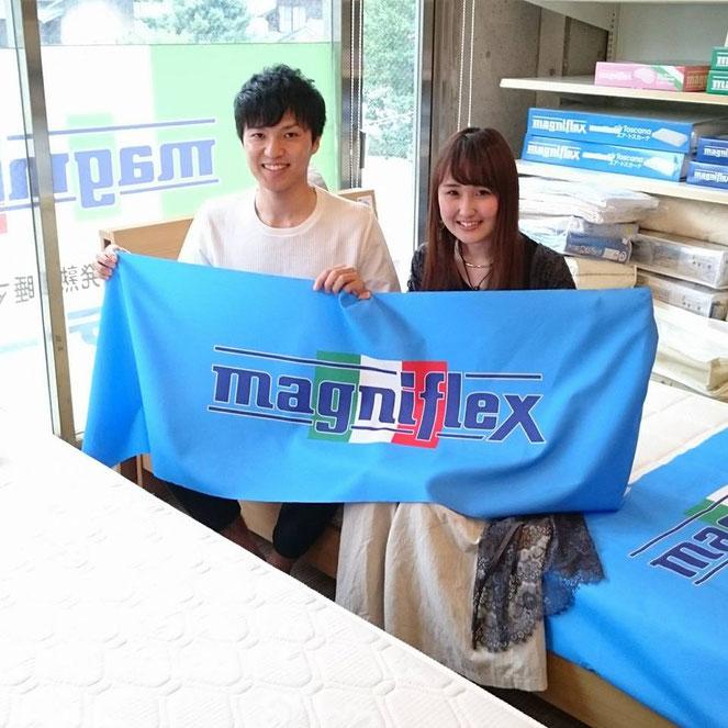マニフレックスをお求めに。 マニステージ福岡