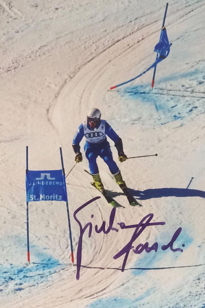 Autograph Giuliano Rizzoli Autogramm